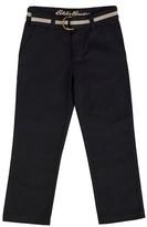 Eddie Bauer Boys' Twill Pant - Black