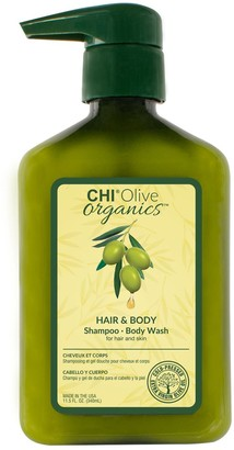 Chi Olive Organics Hair And Body Shampoo And Body Wash