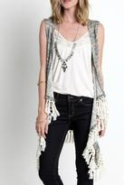 Umgee USA Frayed Love Vest