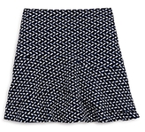Aqua Girls' Print Knit Skirt, Big Kid - 100% Exclusive