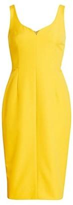 Milly Cady V-neck Sheath Dress