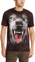 The Mountain Men's Bf Attack Wolf T-Shirt