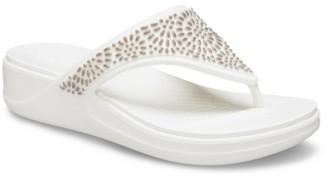 Crocs Monterey Diamante Flip Flop - Women's