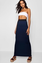 Boohoo Tall Helena Jersey Maxi Skirt