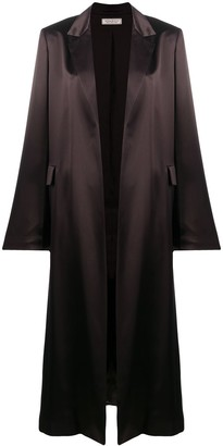 Nina Ricci Silk Duster Coat
