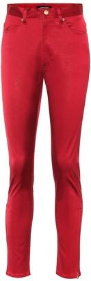 Undercover Cotton-blend high-rise pants