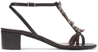 Tabitha Simmons Sheldon Embellished Leather Sandals