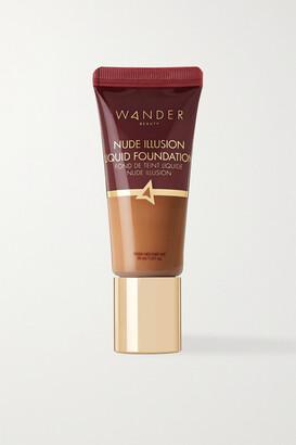 Wander Beauty Nude Illusion Liquid Foundation - Golden Medium