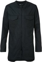 Y-3 zipped long shirt - men - Cotton - S