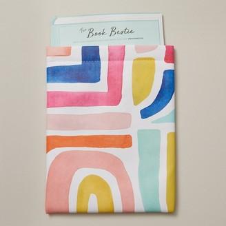 Indigo Paper The Book Bestie Book Sleeve Boho Bright Stripes