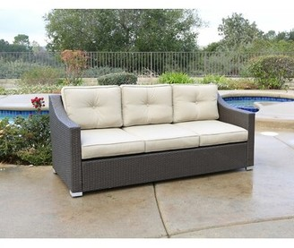 Latitude Run Leib Patio Sofa with Cushions