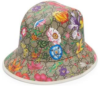 Gucci GG Flora fedora