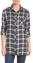 KUT from the Kloth Kazu Plaid Tunic Shirt