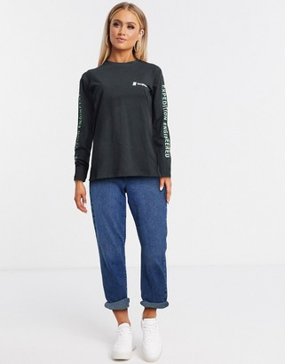 Berghaus Expedition Engineered long sleeved t-shirt in black
