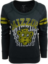 Tailgate Women's Long-Sleeve Missouri Tigers Touch Down Raglan T-Shirt