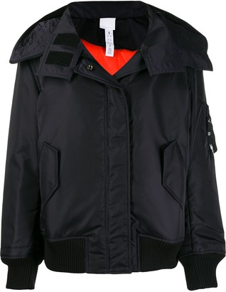 Reebok x Victoria Beckham oversized hooded jacket