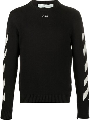 Off-White Diag knitted jumper