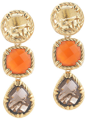 Alor Delatori By 14K & Silver Gemstone Drop Earrings
