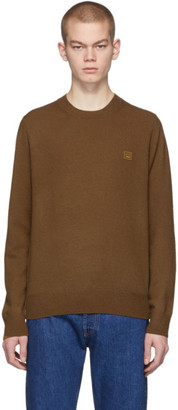 Acne Studios Brown Face Sweater