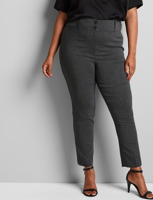 Lane Bryant Tighter Tummy Fit High-Rise Ankle Allie Pant