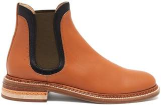 Gabriela Hearst Carlos Colour-block Leather Chelsea Boots - Womens - Tan