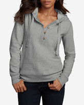 Eddie Bauer Women's Brushed Fleece Hooded Pullover