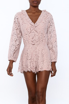 Sugar Lips Crochet Romper