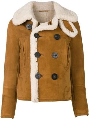 DSQUARED2 sheepskin shearling jacket