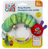 NEW World Of Eric Carle Very Hungry Caterpillar Ring Rattle