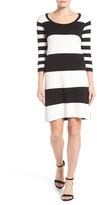 Foxcroft Stripe Knit Dress