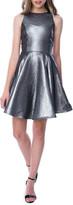 Un Deux Trois Girl's Pleated Floral Racerback Dress, Size 7-20