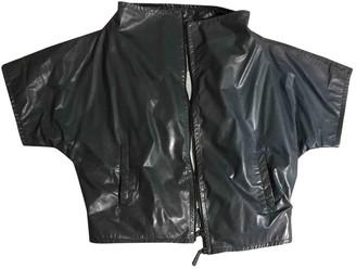 Dusan \N Blue Leather Jackets