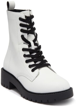 Steve Madden Checker Combat Boot