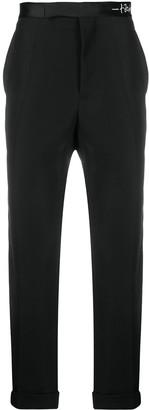 Haider Ackermann Cropped Tuxedo Trousers