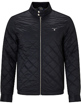 Gant Windcheater Quilted Jacket, Navy