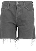 Mother Vagabond Denim Shorts