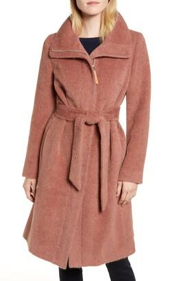 Cole Haan Suri Alpaca & Wool Wrap Jacket