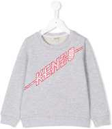 Kenzo logo sweatshirt - kids - Cotton - 4 yrs