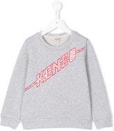 Kenzo logo sweatshirt - kids - Cotton - 4 yrs