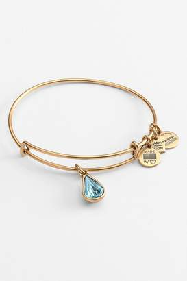 "Alex and Ani Charity ""Living Water"" Expandable Bangle"