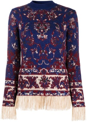 Paco Rabanne Persian Tapestry jumper