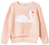 Little Karl Marc John Sale - Misty Swan Jumper