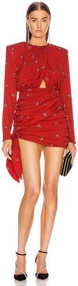 Magda Butrym San Remo Dress in Red | FWRD