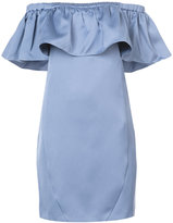 Zac Posen off shoulder Crystal dress