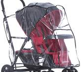Joovy 901 Caboose Rain Cover Stand on Tandem Stroller