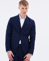 Armani Collezioni Light Stretch Poplin Blazer