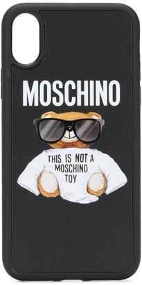 Moschino Teddy iPhone XS case