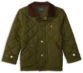 Ralph Lauren Boys' Corduroy Collar Diamond Quilted Jacket - Sizes 2-7