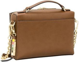 Calvin Klein H9GEZFN1_WAL Cube Zip Around Crossbody Bag