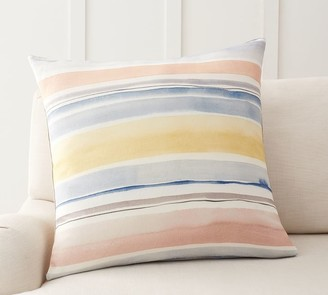 Pottery Barn Rebecca Atwood Striped Pillow Cover